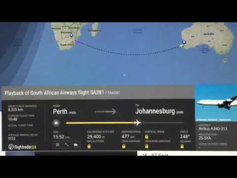 Perth to Johannesburg 07/11/17