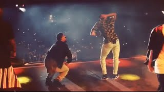 Chris Brown Dancing To Future DS2 In Netherlands