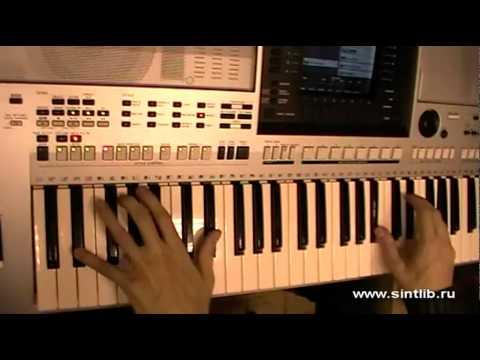 Пираты карибского моря музыка игра на синтезаторе