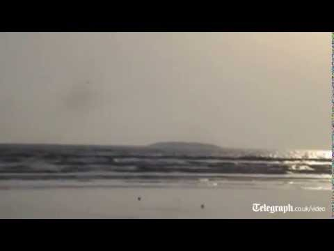 Pakistan earthquake causes new island to appear
