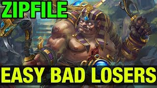 EASY BAD LOSERS - ZIPFILE PUDGE - Dota 2