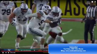 Williams, a top running back prospect for the 2017 NFL Draft, joins...