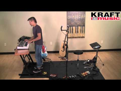 Kraft Music - Tony Smiley (The Loop Ninja) with RC-3 Loopstation Performance 2