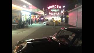 Rumblers cruise to the end of the line New York city Coneyisland