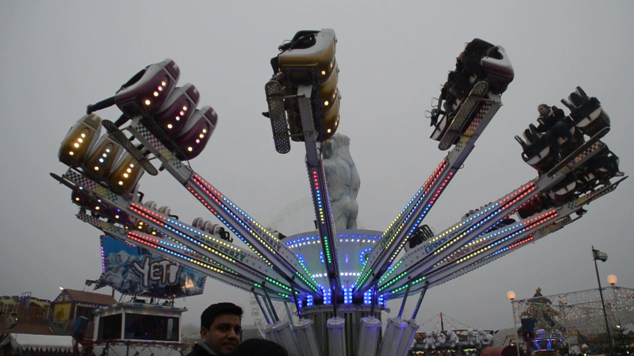 William Thurston's Dance Crazy (Yeti) - Hyde Park Winter Wonderland 2016