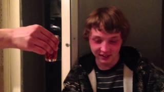 Заставили Димона выпить)