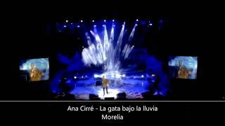 Baixar Ana Cirré -  La gata bajo la lluvia -  En directo desde Morelia Grande
