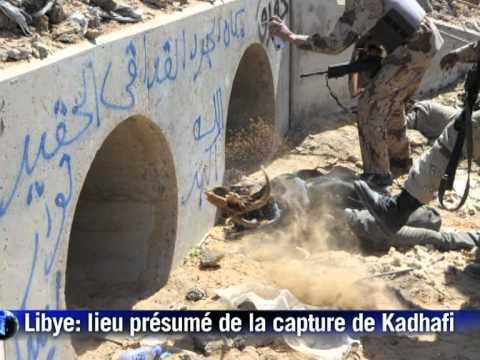 Mouammar Kadhafi est mort selon les nouvelles autorités