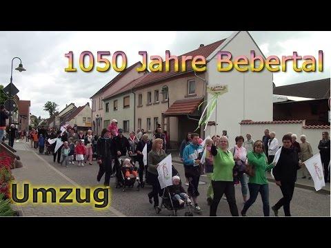Umzug 1050 Jahre Bebertal