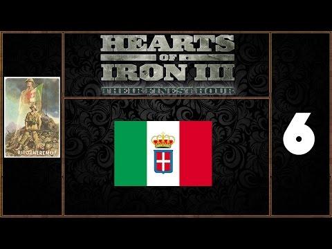 Hearts Of Iron III Italia Gameplay ITA #6 - Generali e Tecnologie