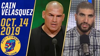 Cain Velasquez calls working for WWE 'a lifelong dream come true' | Ariel Helwani's MMA Show