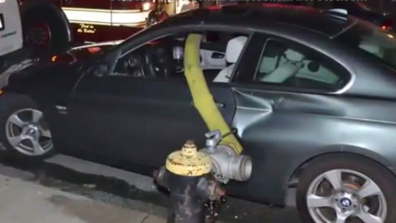 Never Block A Fire Hydrant I Warned You Youtube