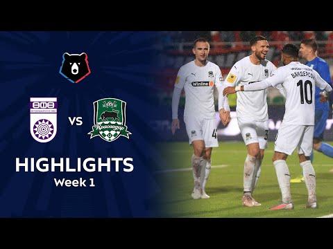Ufa Krasnodar FK Goals And Highlights