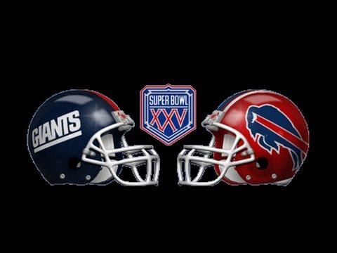 Super Bowl XXV - Buffalo Bills vs New York Giants (January 27, 1991)