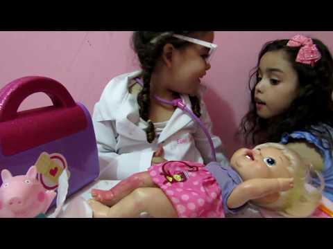 Baby Alive Alice Vai Ao Médico Capítulo 4 (Ft. Ester E Diversão)