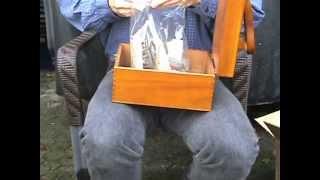 Unpacking New Shoeshine Box