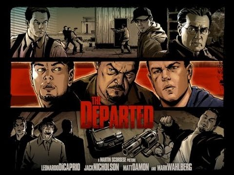 Movie Monday I want my environment to be a product of me ~Frank Costello (The Departed, 2006)