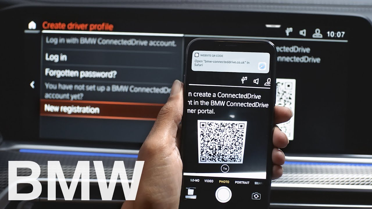 Setup Your Bmw Connecteddrive Account Bmw How To Youtube