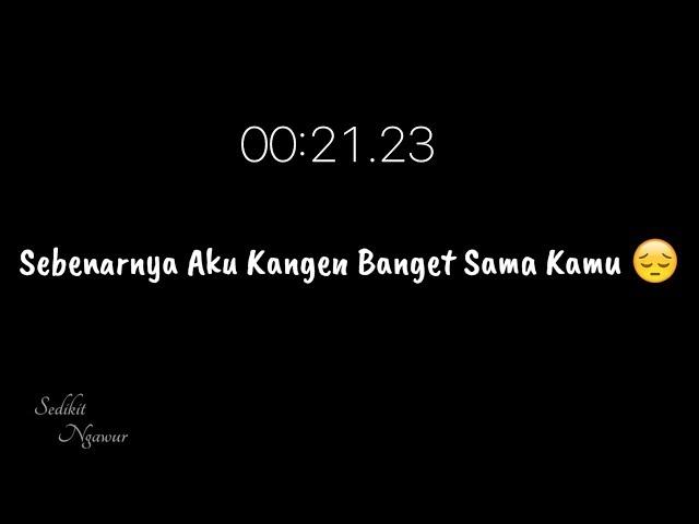 Story Wa Sedih Terbaru 2019    Story wa baper - Rindu Buat Mantan part5