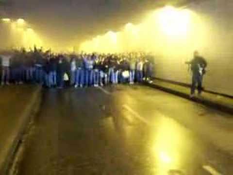 Derbymarsch im Tunnel 12.05.2007