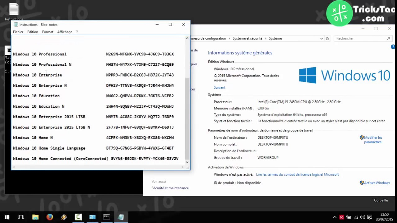 how to get windows 10 key from cmd