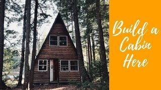 SOLD - Cabin Porn - Build a Cabin here