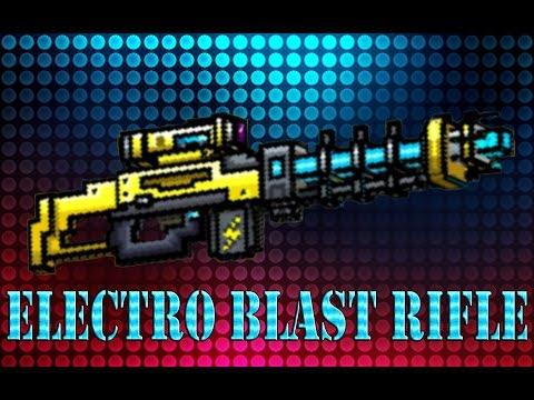 Pixel Gun 3D - Electro Blast Rifle Gameplay