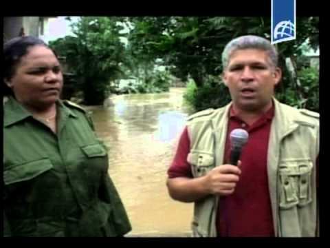 Huracan Sandy, un reporte desde Sagua De Tanamo  hoy  26 de Octubre /2012