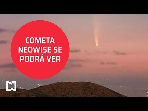 Entrevista I Cometa Neowise se verá desde la Tierra; Astrónoma de la UNAM - Despierta
