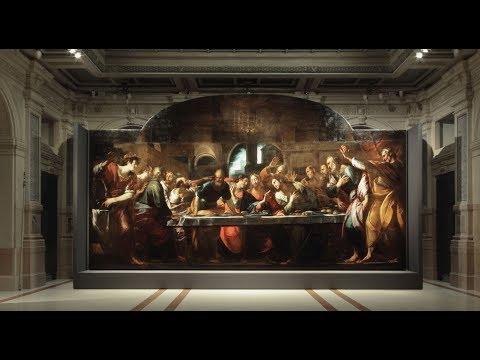 Timelapse dell'allestimento dell'Ultima Cena di Giulio Cesare Procaccini