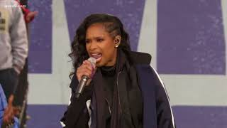 D.C. choir sings with Jennifer Hudson, 'The Times They Are A Changi...