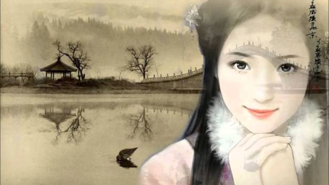 Chinese girl painting youtube chinese girl painting voltagebd Image collections
