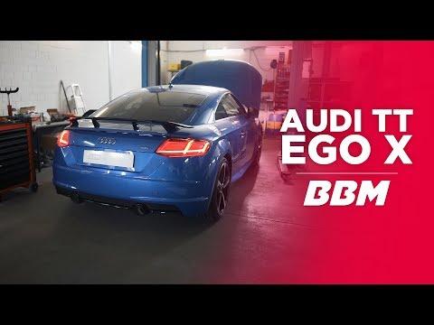 Hammer Sound!   Audi TT EGO-X Abgasanlage by BBM