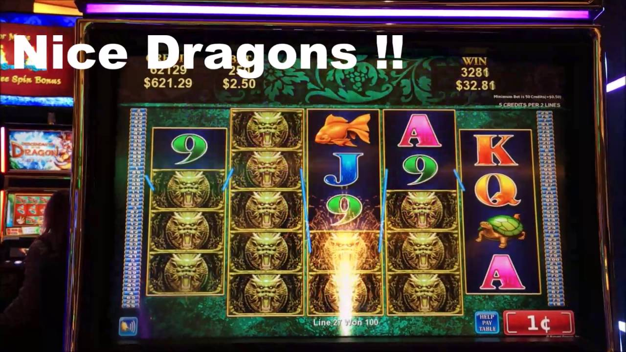 Ancient Dragons Slot Machine