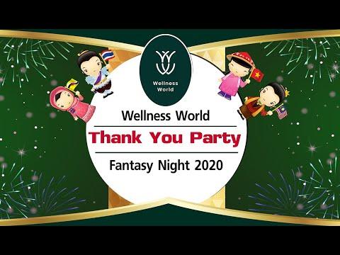 Wellness World Thank You Party Fantasy Night 2020