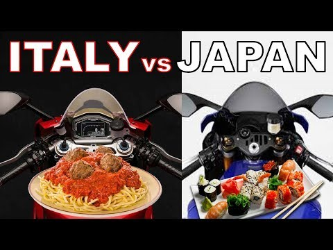 The Truth About Italian vs Japanese Motorcycles - Part 1