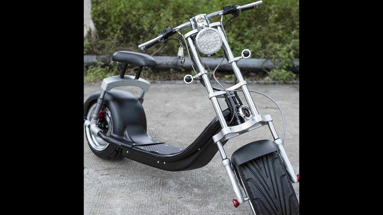 harley electric scooter citycoco factory tour youtube. Black Bedroom Furniture Sets. Home Design Ideas