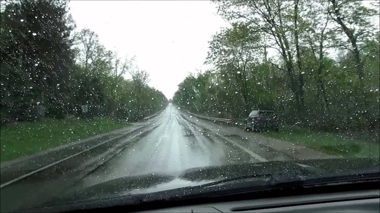 Rain X Latitude Wiper Blades Test 5 19 11 Youtube
