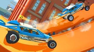 МАШИНКИ МОНСТРЫ Race off Hot wheels Игровой мультик Видео для детей Машинки как из мультика