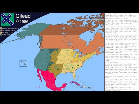 Is This a Plausible Map of Gilead from The Handmaid's Tale? (A Map Analysis)