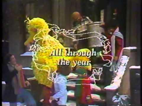 Sesame Street Keep Christmas With You All Through The