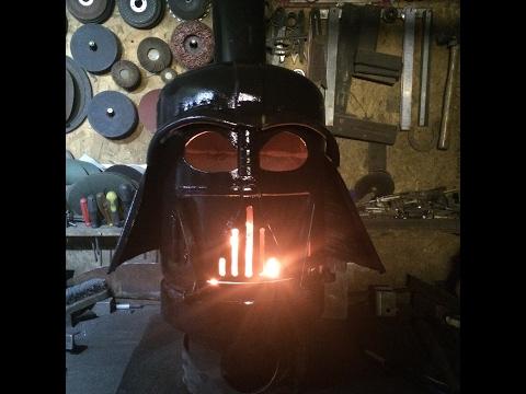 Darth Vader wood burner build part 1