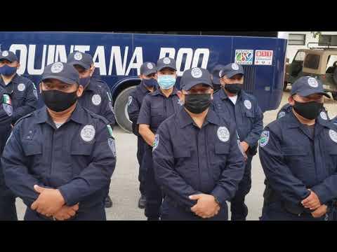 El control de la policía del Municipio de Tulum, queda bajo el control de la SSP Quintana Roo
