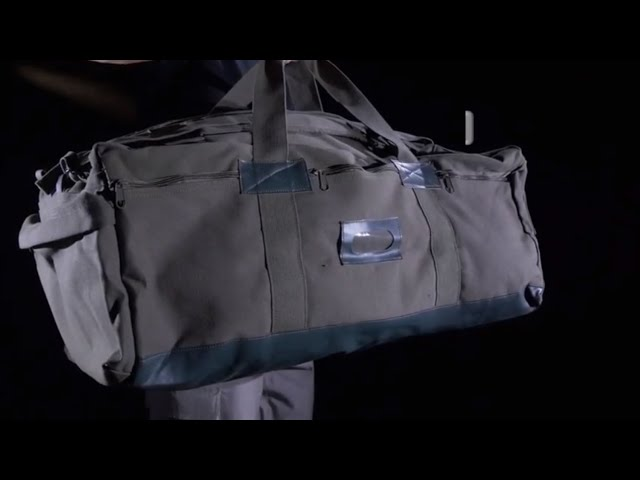 Mossad Tactical Duffle Bag - Rothco Product Breakdwon