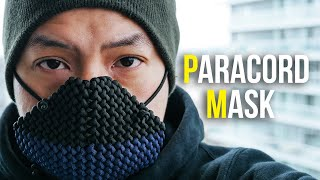 😷 Making A Mask Out Of Paracord! | DIY Conquistador Paracord Mask Tutorial