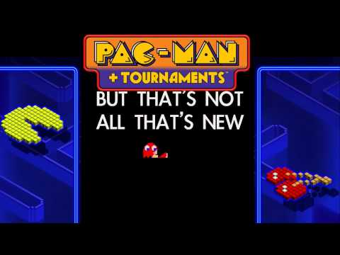 PAC-MAN + Tournaments - Trailer