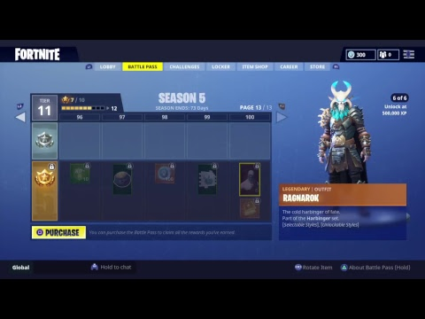 SEASON FIVE REVIEW!!!(SOLO FORTNITE DUBS)