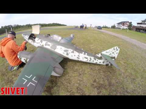Jet World Masters 2017 - Interview with Germany's Stephan Völker with Messerchmitt 262 model jet