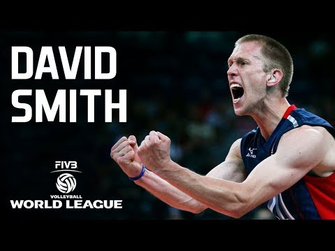 TOP 10 Best Volleyball Spikes by David Smith |  Deaf Volleyball Player