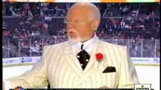 NHL on NBC - Cherry OWNS Hull